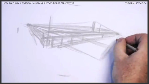 learn how to draw a cartoon airplane in two point perspective 004