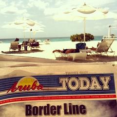 Aruba Today #aruba #beach #ocean #iphone #instaiphone
