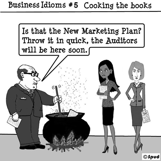 Business Idioms Cooking the Books   Flickr - Photo Sharing!
