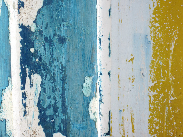 St Ives boat peeling paint texture - free to use