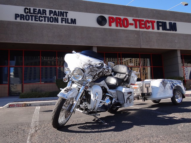 Multiple Paint Protection Film Coverage