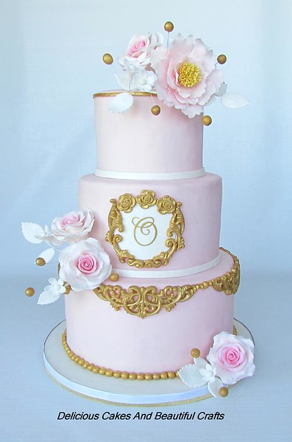 Beautiful Cake by Delicious Cakes And Beautiful Crafts