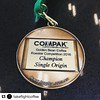 #chuffed #Repost @takeflightcoffee with @repostapp ・・・ Happy to grab a podium finish for Single Origin Espresso @goldenbean.northamerica competition! We entered just one coffee and our Ethiopian Sidama Bokasso pulled through for us! #bronzemedal #bronze #