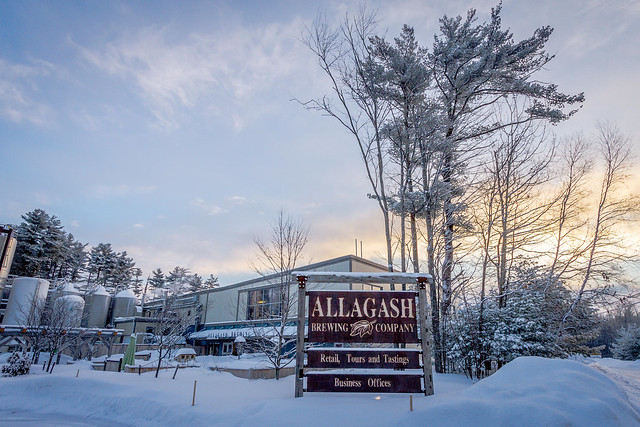 Header of Allagash Brewing Company