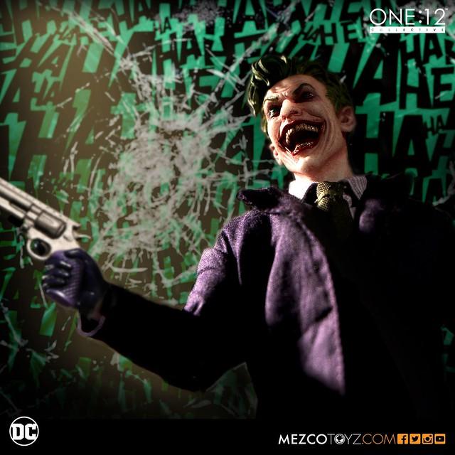 MEZCO – ONE:12 COLLECTIVE 系列【小丑】DC Comics The Joker