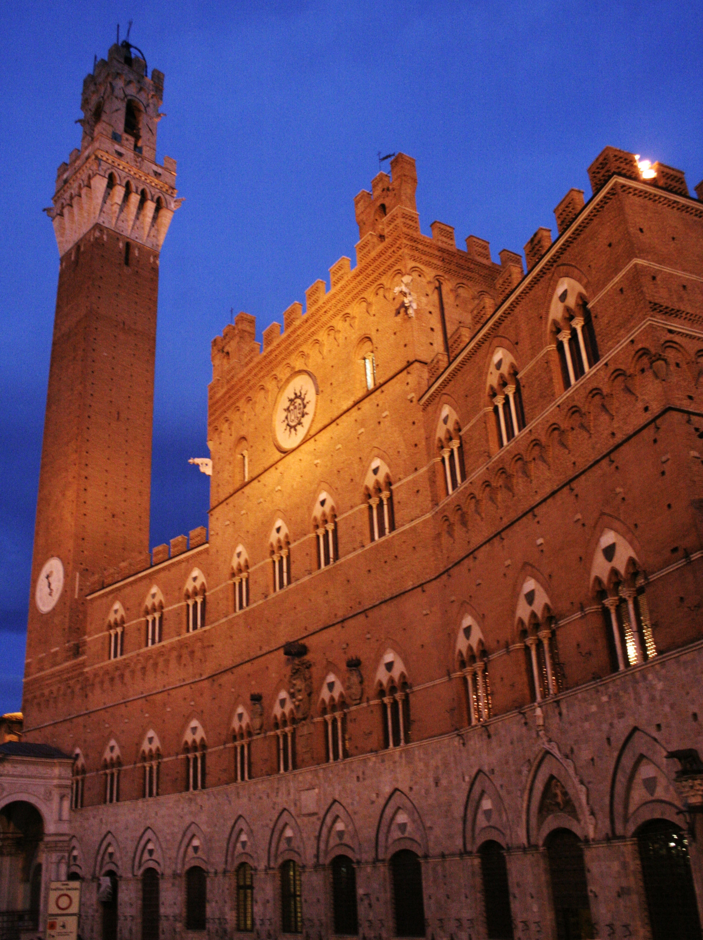 Siena City Hall and City Tower