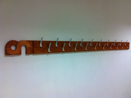 Makespace coatrack