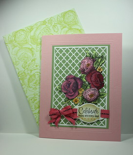 Card with Patterned envelope
