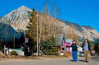 Strolling through Crested Butte