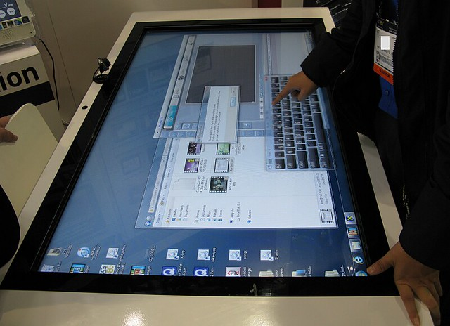 Zoom Digital Signage Multi Touch Table Kiosk Flickr