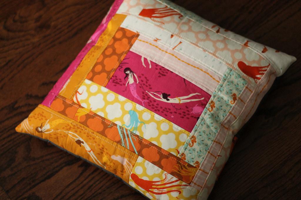 Mendocino mermaids pillow
