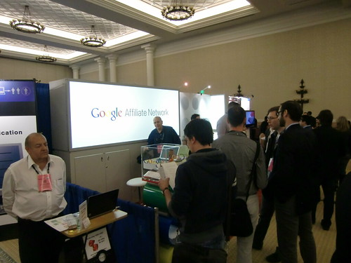 Exhibit Hall at Affiliate Summit West 2013