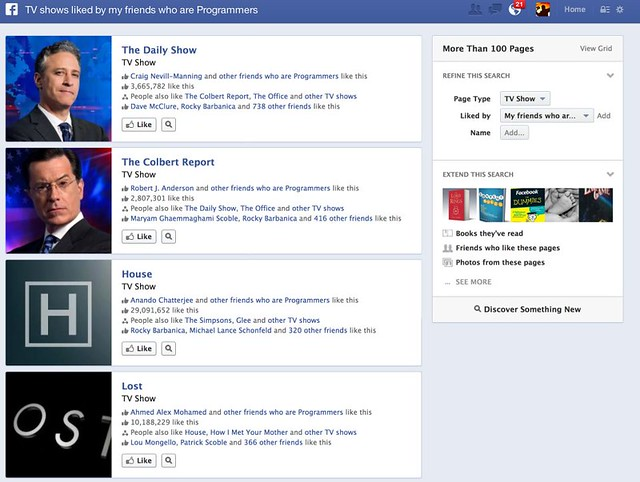 Facebook Graph Search Announcement