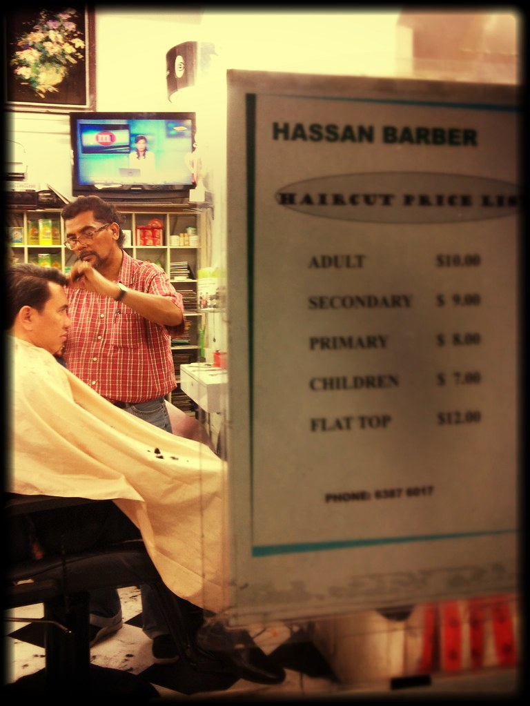 At Hassan Barber