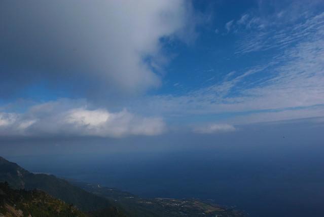 モッチョム岳からの眺め
