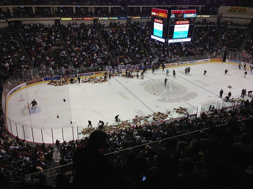 Hershey Bears - Bear Toss Night
