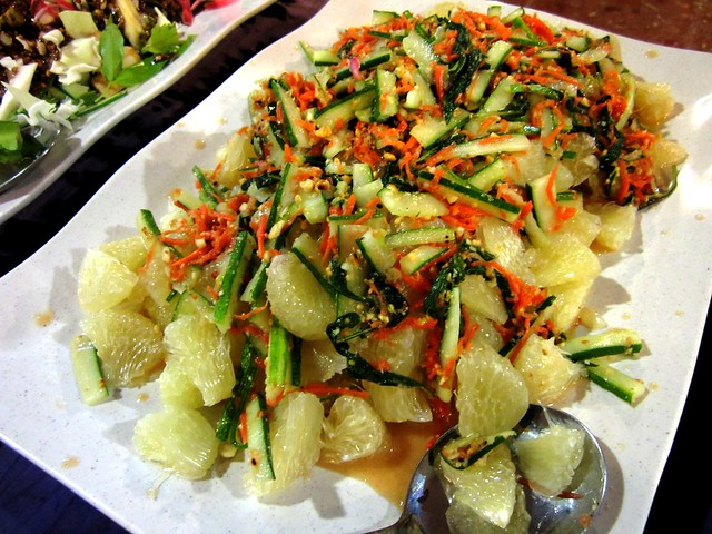 PM pomelo salad