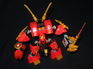 70500 Kai's Fire Mech from above