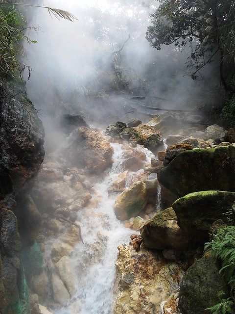 Bayan Wild Hot Springs Steaming Hot