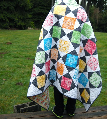 Juicy - my quilt in Modern Quilts from the Blogging Universe