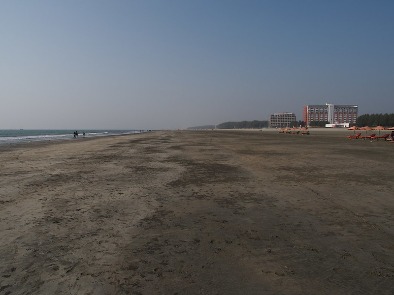 Beach of Cox's Bazar