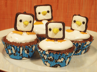 Penguin Marshmallow Decoration