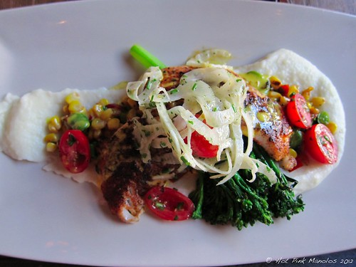 Spice Seared Local Red Snapper