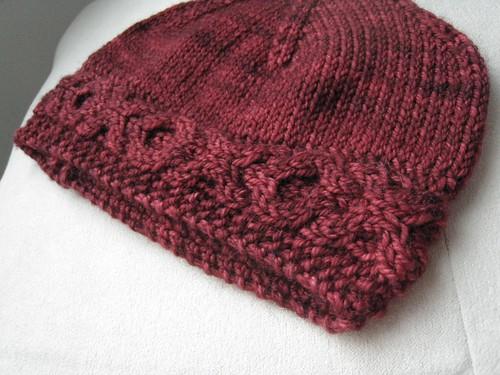 Heartbreaker newborn hat