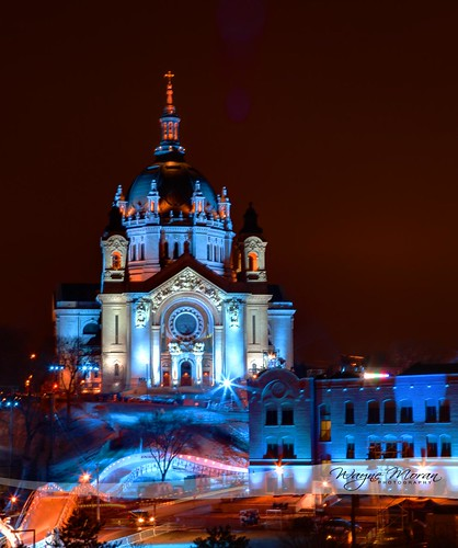 Cathedral of St Paul All Dressed Up - Red Bull Crashed Ice 2013 by !!WaynePhotoGuy