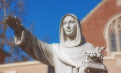 statue of St. Dominic