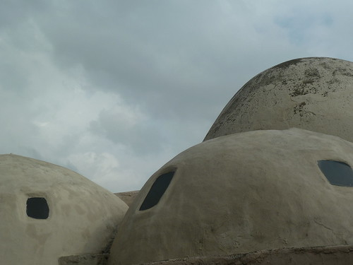Domes of old Tarsus hamam by mattkrause1969