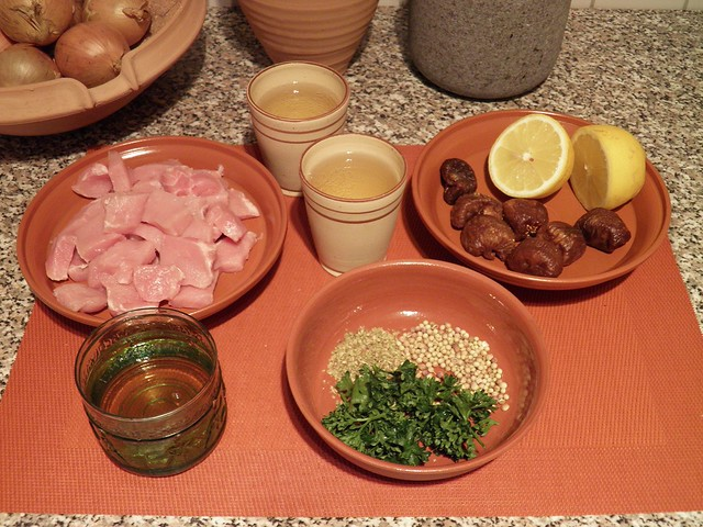 Psoai / Pork in Sweet Wine and Fig Sauce, Ingredients & recipe