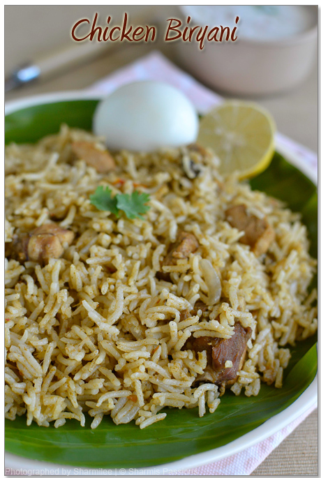 Chicken biryani recipe how to make chicken biryani sharmis passions chicken biryani recipe forumfinder Image collections