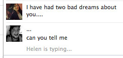 Helen bad dreams