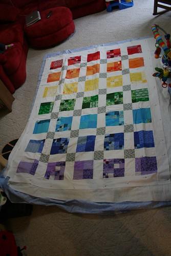 The rainbow quilt