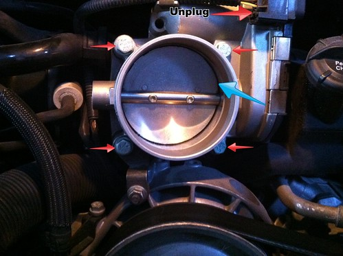 inspect throttle body