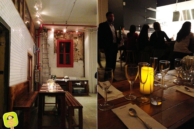 The Old Bowery Station - Abode family meal pop up dinner 2