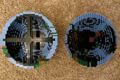 dirks LEGO globe - building up 11