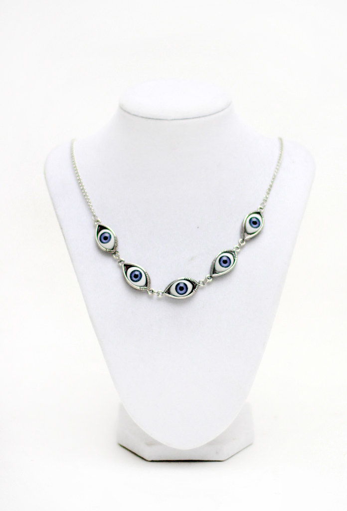Eyeball eye necklace by Tarte Vintage at shoptarte.com