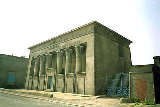 Antigua Fábrica conocida como Temple Works de estilo Egipcio