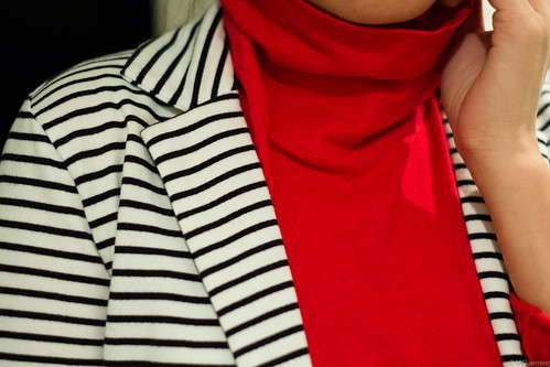stripes and red
