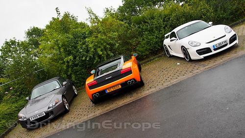 ホンダ S2000とランボルギーニ