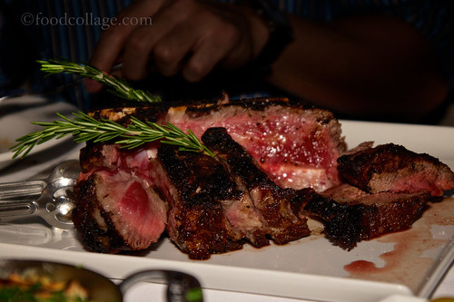 Double Porterhouse at Harbour Sixty (Toronto)