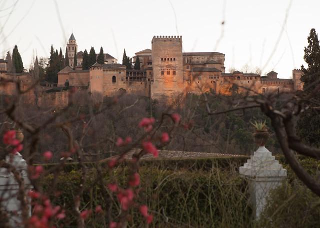 Vistas desde Carmen de la Victoria - Granada