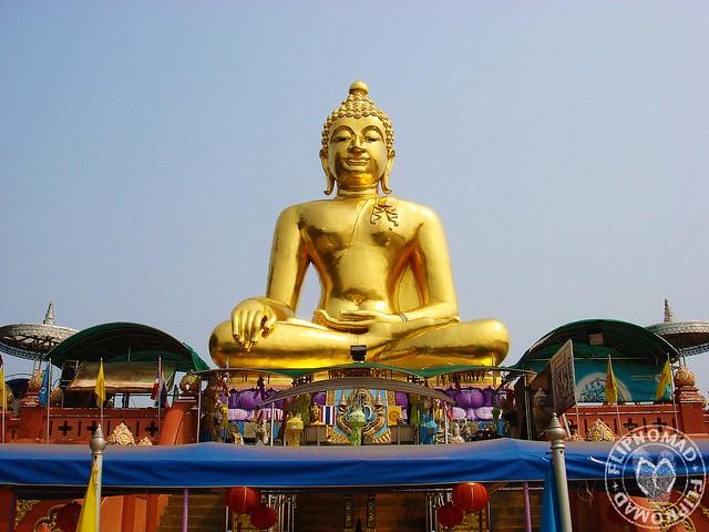 Golden Buddha at  Golden Triangle