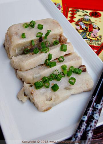 Taro Root Cake