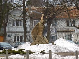 Lāčplēsis - Latvian hero and freedom fighter -  the Bear Slayer