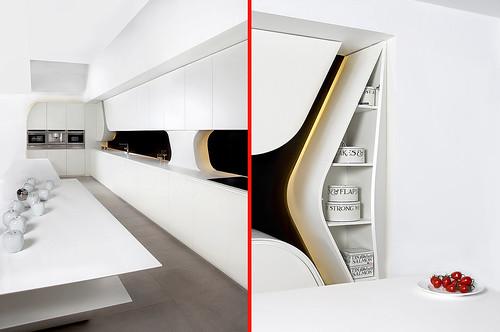 Wave la nueva cocina espacios vives for Cocinas joaquin torres