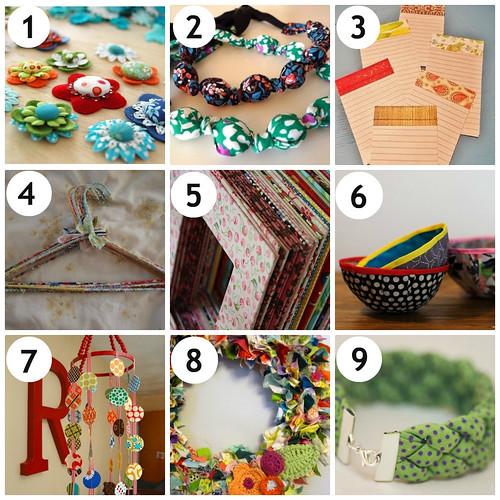 4my3boyz Fabric Scrap Ideas