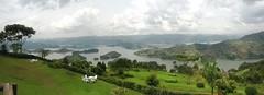 Panorama: Lake Bunyonyi